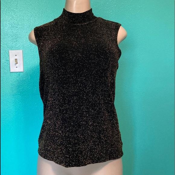 NWOT Women George  Sleeveless  Shirt Top Sz M